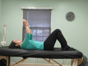 AAROM shoulder flexion