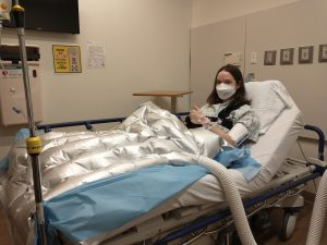 Waiting in pre-op